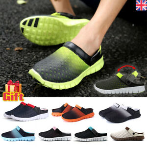 562840e95d2a2b Image is loading Mens-Beach-Sandals-Slippers-Womens-Clogs-Mules-Sports-