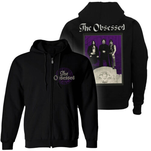 Relapse Records SS4522 THE OBSESSED The Obsessed Zip-Up Hoodie NEW