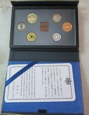 Japan Proof Coin 6pcs Set 2002 Mint Bureau 日本原装带证书 (2002年)精制套 平成十四年