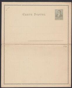 1892 Letter Card H&g 14 Argentina Mint Nourishing Blood And Adjusting Spirit