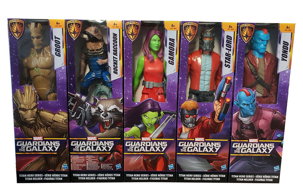 Guardians of the Galaxy diverse actionfigurer Titan Hero Series, Yondu 30cm NY