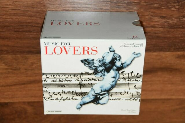 10 CD BOX SET Classical Music For Lovers Chopin Mozart Bach Beethoven Gershwin