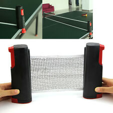 Retractable Table grey games retractable table tennis ping pong portable net kit