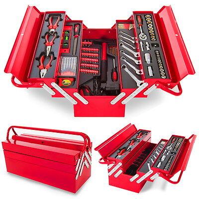 Caja de herramientas portátil de 118 piezas de gran calidad -Greencut