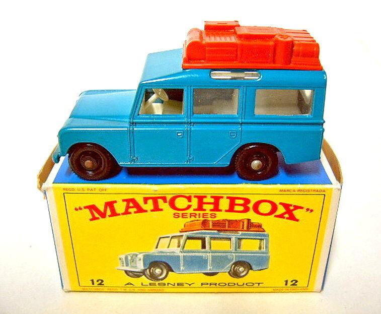Matchbox série 1-75 12 C Land Rover Safari Bleu Top dans  E  BOX