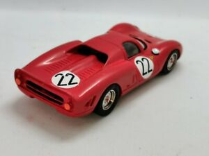 Record-maquette-Kit-Monte-ech-1-43-Ferrari-365-P2-Rouge-en-parfait-etat