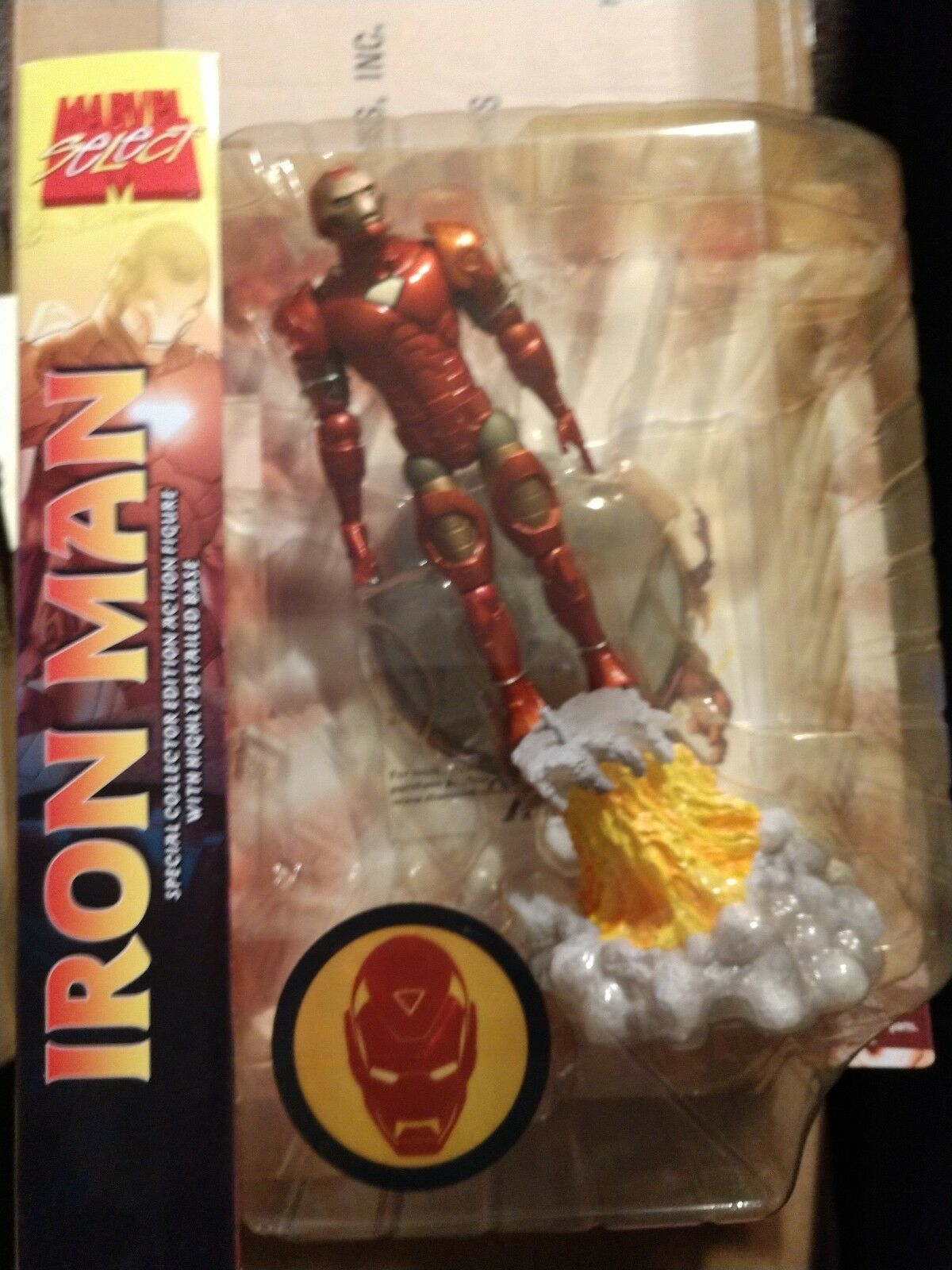 Marvel Select Iron Man Special Collector Edition Action Figure-New Diamond