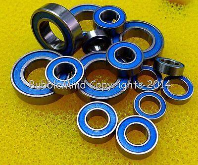 BLUE M06 Rubber Sealed Ball Bearing Set For TAMIYA 58594 RC Lowride Pumpkin