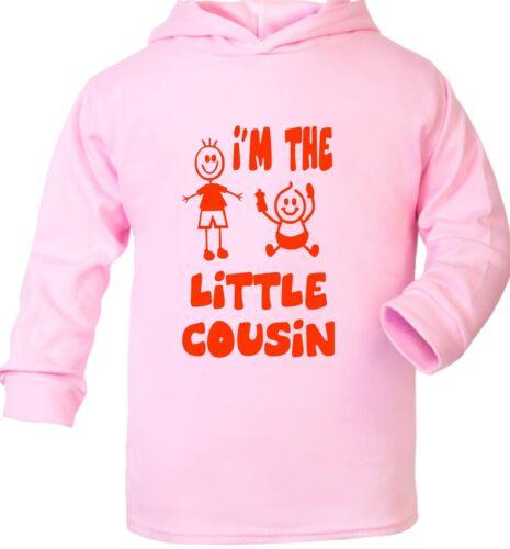 Je suis le petit cousin Sweat à capuche Bébé Cadeau 0-2 ans
