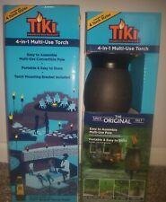 Graphite Gray TIKI Brand 64-inch Resin Jar Torch 4-in-1