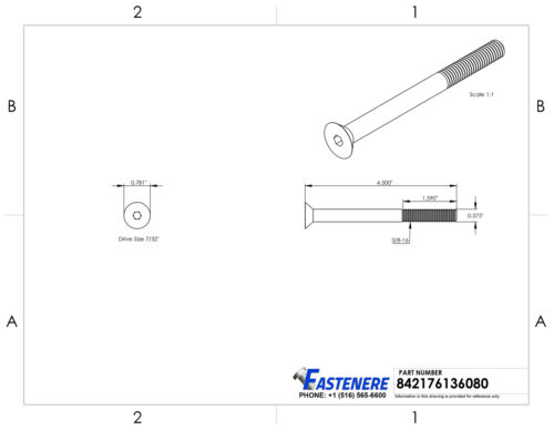 "3//8-16 x 4-1//2/"" Flat Head Socket Cap Screws Grade 8 Steel Black Oxide Qty 50"