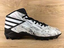 item 7 Adidas Freak Mid Football Cleats White Black B49386 Men s Size 12 - Adidas Freak Mid Football Cleats White Black B49386 Men s Size 12 52c74f5be