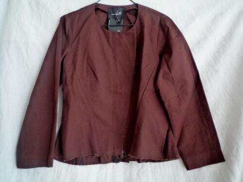 talla Etoile Isabel burdeos Marant 1 de chaqueta algodón 4TYqZT