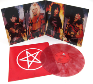 Motley Crue - Shout at the Devil Clear with Red Swirl Vinyl LP 1500 WW NEU