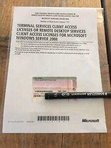 Terminal-Server-RDS-5er-USER-Cals-OEM-fuer-Windows-Server-2008-2008-R2