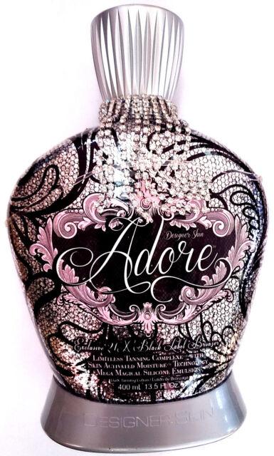 Designer Skin Adore Exclusive 21X Black Label Bronzer Indoor Tanning Bed Lotion