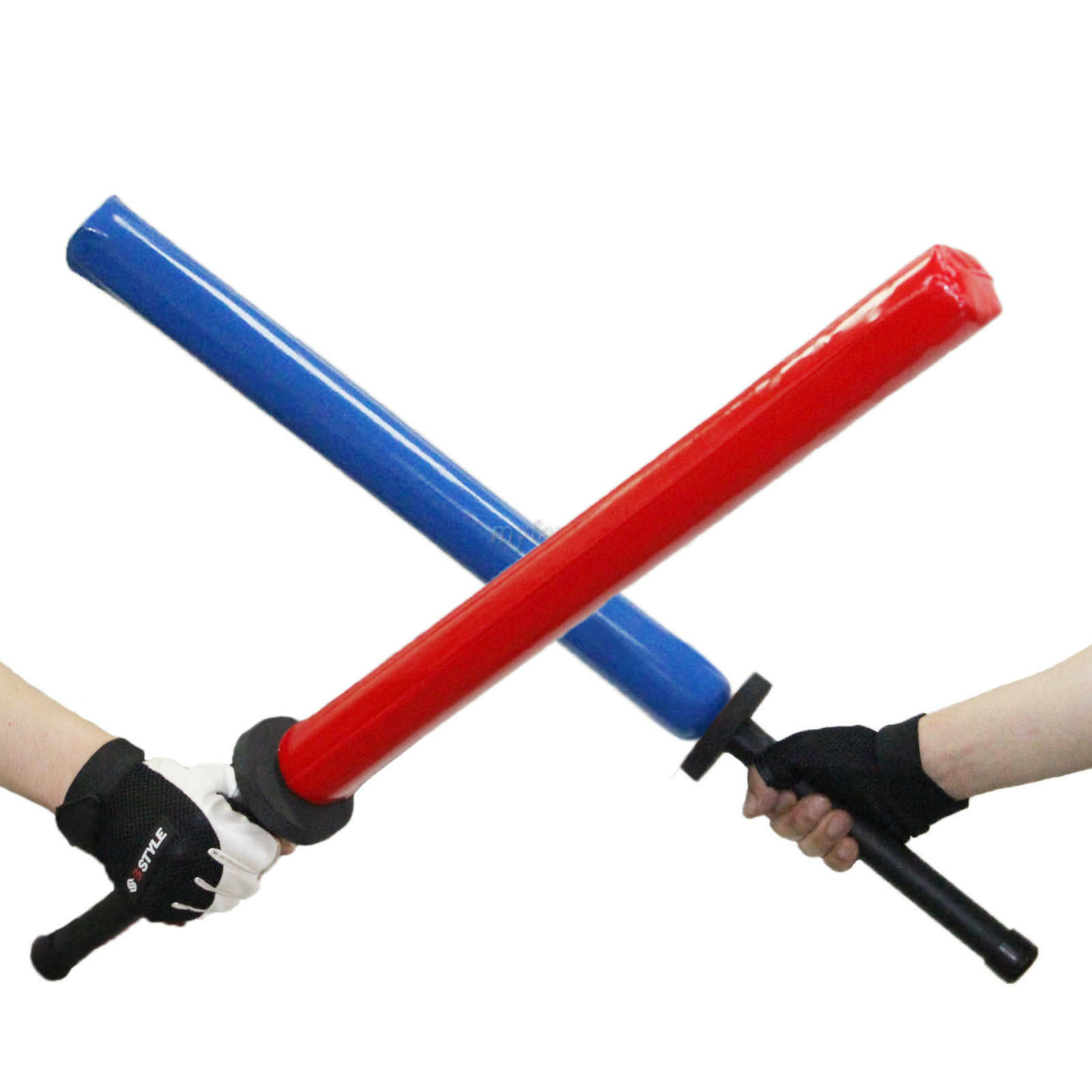 Sponge Swords Foam Sticks 80cm 2pcs Set Chanbara Fighting Sparring Cudgel Kendo