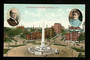 Buffalo, New York NY Vintage postcard McKinley Monument President