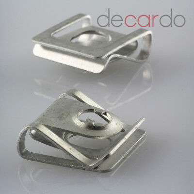 30x Metal Underbody Protection Clip Clips for VW Skoda Seat Audi N90847501