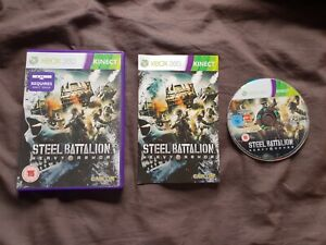 STEEL-BATTALION-HEAVY-ARMOR-Microsoft-Xbox-360-Game