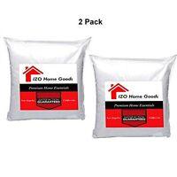 2 Packs Sham Stuffer Square Pillow Form Insert Polyester,standard All Size