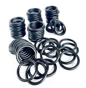 2 Stück Ringe Null Ring Innen ø 27 x 2,5 mm Schnurstärke O Werkstoff NBR 70