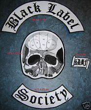 BLACK LABEL SOCIETY - Back Patch set FREE SHIPPING !!!!