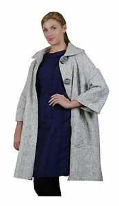 White-Melange-Coat