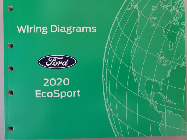 2020 Ford Ecosport Wiring Diagrams Manual