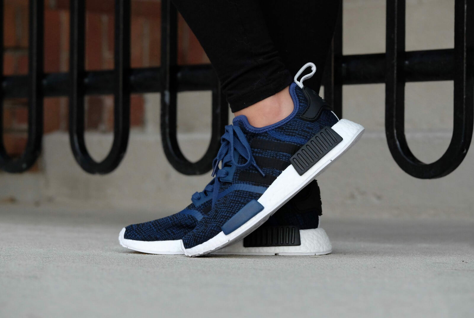 f24d9fdfa Adidas NMD R1 Mystery Blue Nomad Collegiate Navy New Men Size 7.5-13  (BY2775)