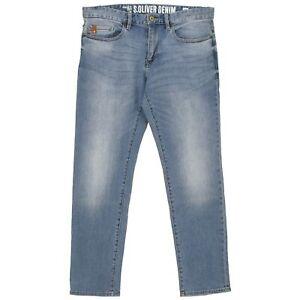 S-OLIVER-Herren-Jeans-Hose-TUBX-Straight-Stretch-lightblue-used-blau-21539