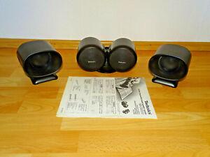 Technics-sb-css200-Center-Channel-Surround-speaker-System-2-anos-de-garantia
