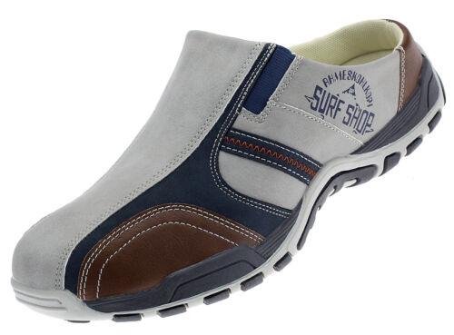 Herrenschuhe Sabots Clogs Sneaker Pantoletten Schlappen Freizeit Slipper ST8721