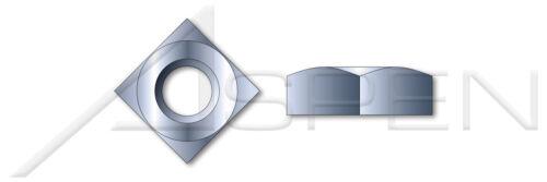 """1000 pcs 7//16/""""-14 Square Nuts Steel Zinc"""