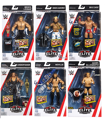 WWE Figure-Elite Series 56-Mattel-Sigillato Nuovo di zecca