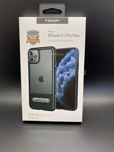 Spigen 075CS27060 Thin Fit Case for Apple iPhone 11 Pro Max - Black Slim Armor