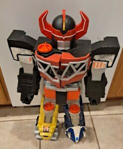"Imaginext Mighty Morphin Power Rangers 27"" Megazord Robot Playset"