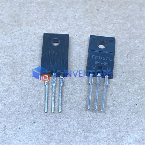 10PCS FMU22U TO-220 Doubler Polarity Ultrafast Recovery Rectifier Diodes