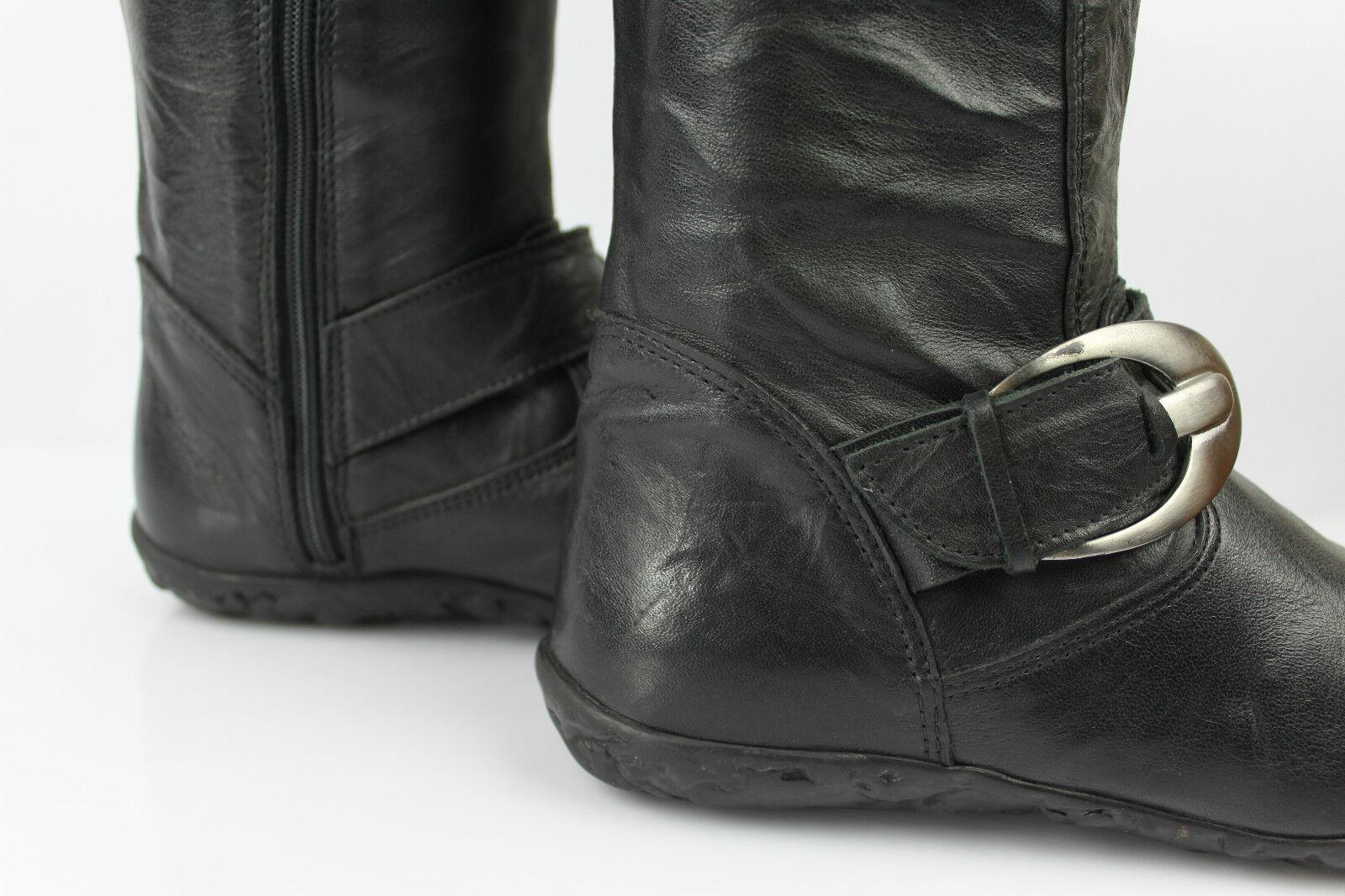 Bottes Cuir AYAME Cuir Bottes Noir T 37 TBE fa3c94