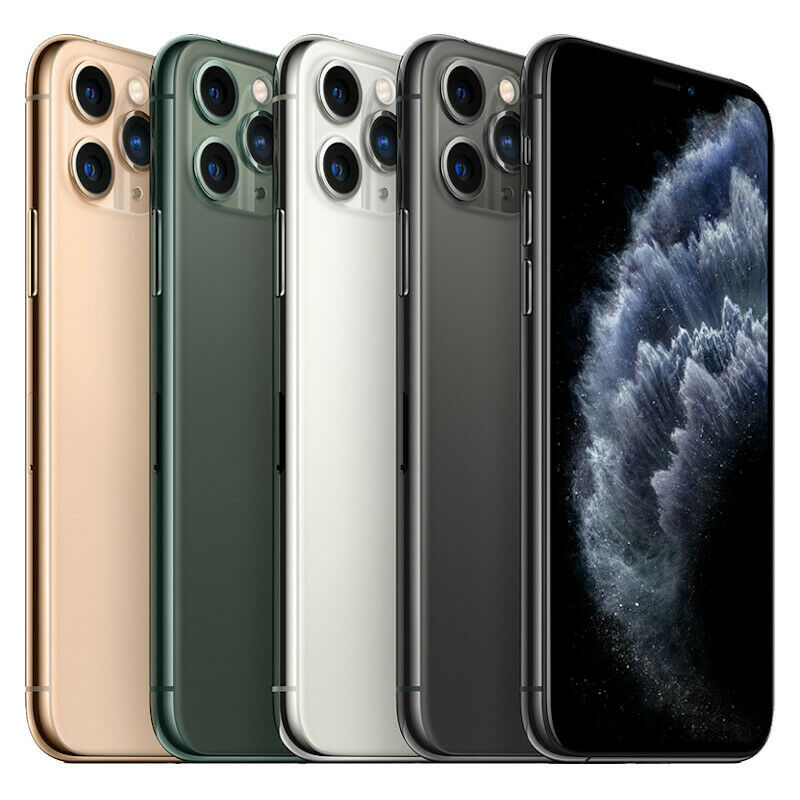 Apple iPhone 11 Pro Max – 64GB 256GB 512GB, All Colors – Unlocked/Network Locked