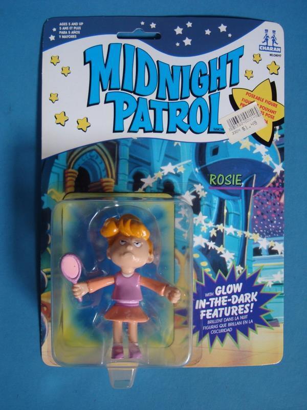 Midnight Patrol Rosie-Scellé sur voiturete GFaible in the  Dark Hanna-Barbera 1991  garantie de crédit