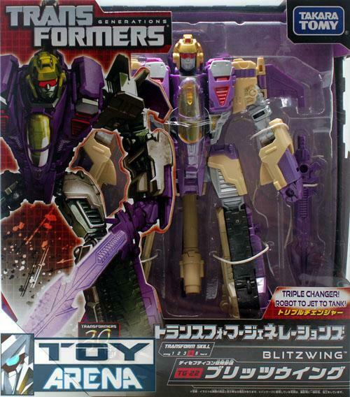 Transformers Generations TG-22 Blitzwing Decepticon Ftutti of Cybertron cifra