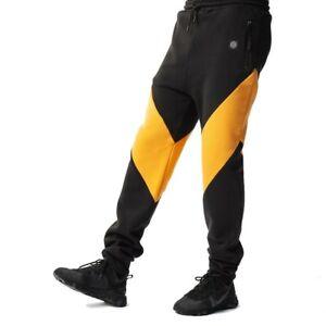 Dolly-Noire-Vapor-Sweatpants-Pantalone-Uomo-SH89-Black-Yellow