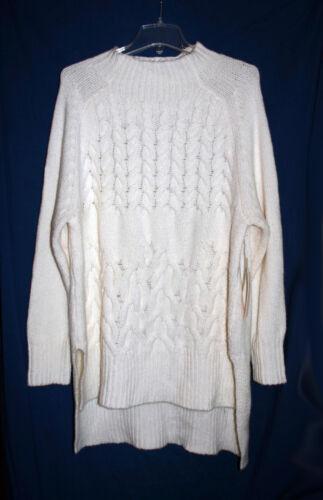 Af Vince Sweater Kvinde Pullover Xl Kabel Camuto Nwt 2 Fisker Elfenben wOqSw
