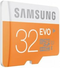 Original Samsung Evo 32 GB MicroSDHC Class 10 48 MB/s Memory Card
