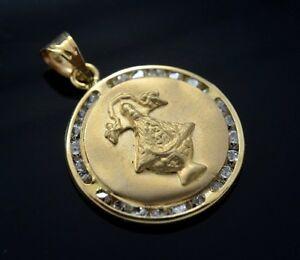 Our lady of san juan de los lagos pendant 14k gold charm virgen image is loading our lady of san juan de los lagos mozeypictures Images