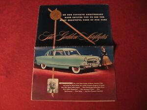 1952 Nash Large Prestige sales Brochure booklet Catalog Book Old Original