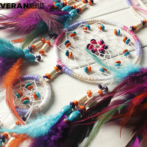 Colorful Handmade Big Dream Catcher Wall Hangings Living Room Decoration Gift