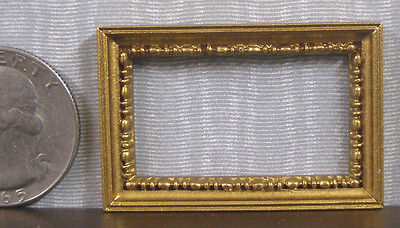 """Toys & Hobbies Artist Offerings Half Scale ~ 1/2"""" Scale ~ Empty Frame ~ Dollhouse ~ 1:24 Or 1:12 Scale"""
