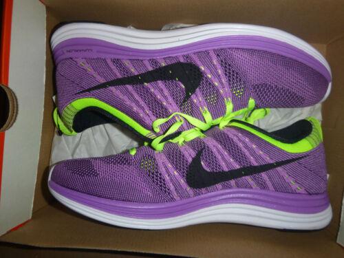 formateurs Fly baskets Lunar 1 violettes de Flyknit Fly cadavre Nike marque Nouvelle Knit Uk9 mort XFZOxq